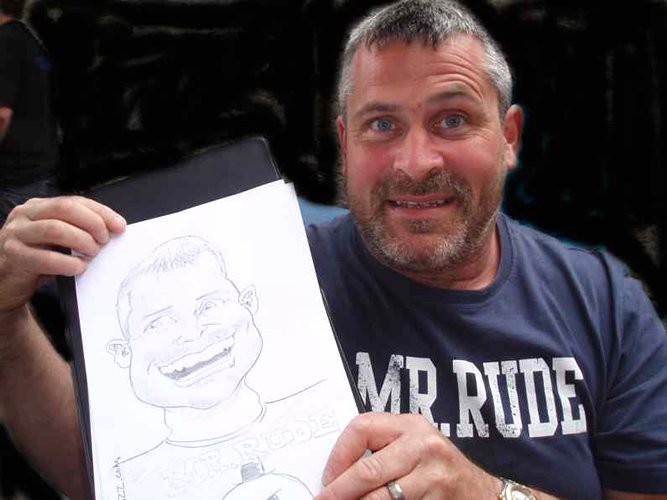 Mark B The Caricaturist Gallery
