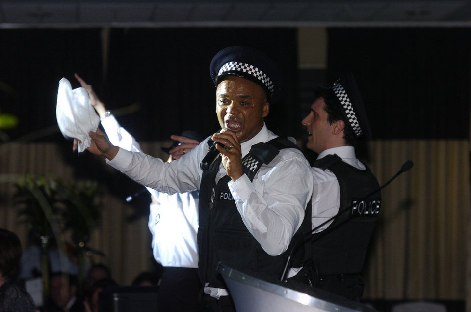 The Singing Policeman - Surprise Singers Gallery