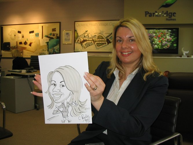 Chris The Caricaturist Gallery