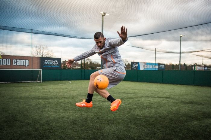 The Football Freestyler Gallery